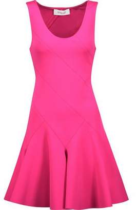 Derek Lam 10 Crosby Pleated Neoprene Mini Dress