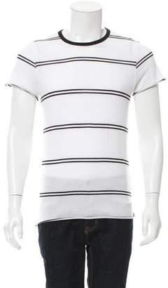 Amiri Striped Short Sleeve T-Shirt w/ Tags