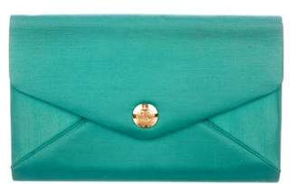 Ralph Lauren Satin Evening Bag