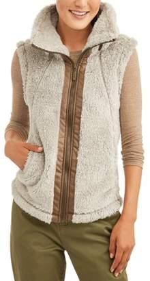 Climate Concepts Women's Fluffy Fleece Vest
