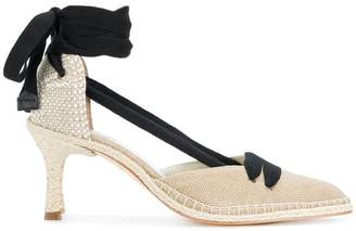 Castaner X Manolo Blahnik Neutral 70 espadrille pumps