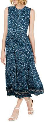 Style&Co. Style & Co. Floral Print Maxi Dress