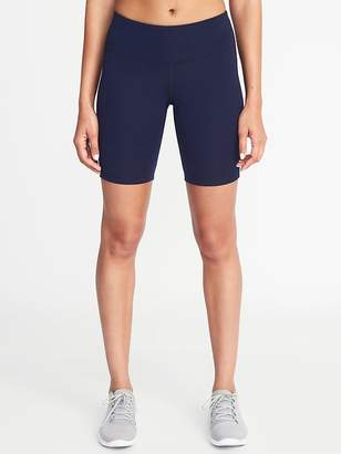 "Old Navy Mid-Rise Compression Bermuda Shorts for Women (8"")"