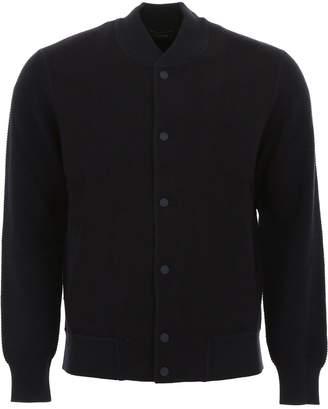 Ermenegildo Zegna Wool Bomber Jacket