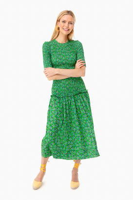 Rhode Resort Green Zola Dress