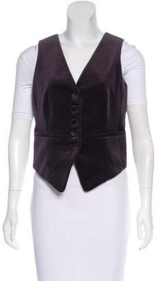Frame 2018 Masculine Velvet Vest w/ Tags