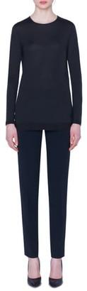 Akris Cashmere & Silk Tunic Sweater