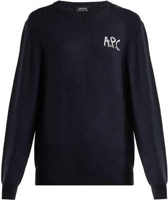 A.P.C. Sapiens merino-wool sweater