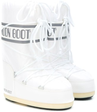 Moon Boot Kids lace up moon boots