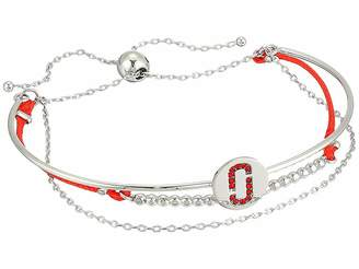 Marc Jacobs Double J Pave Friendship Bracelet