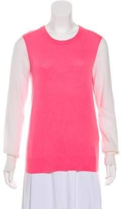 Equipment Cashmere Colorblock Sweater