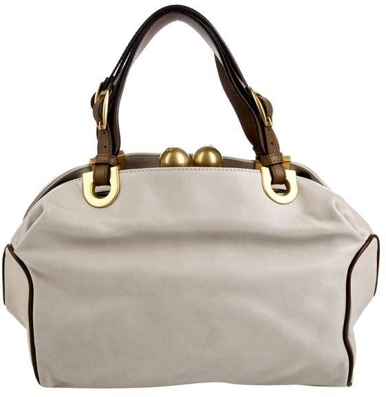 MARNI - Leather frame bag