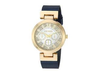 Steve Madden Multifunction Dial Ladies Alloy Band Watch SMW181 Watches