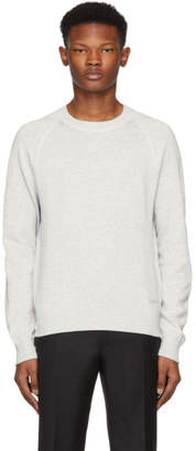 Brioni Grey Cashmere and Cotton Sweatshirt