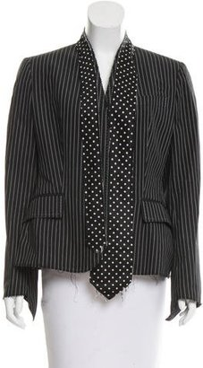 Paul Smith Striped Structured Blazer $75 thestylecure.com