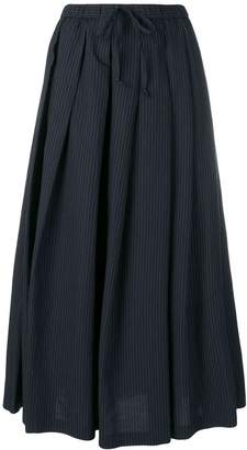 Aspesi pinstripe pleated skirt