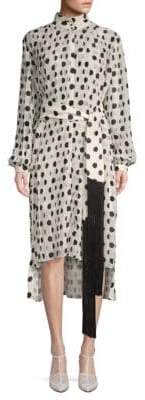 Zimmermann Rife Polka Dot Tunic Dress