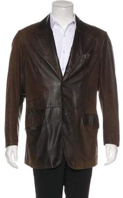 Gimo's Italiana Leather Sport Coat