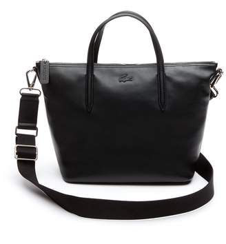 Lacoste Women's L.12.12 Leather Zip Tote