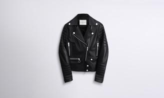 Rainier Zero Leather Moto Jacket