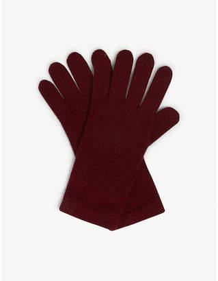 Johnstons Short cuff cashmere gloves