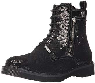 Armani Exchange A|X Women's Sequined Combat Boot