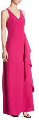 Armani Collezioni Techno Cady Flutter Gown