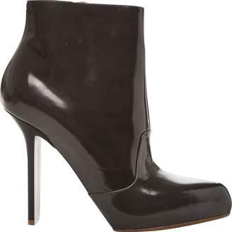 Maison Margiela Grey Patent leather Boots