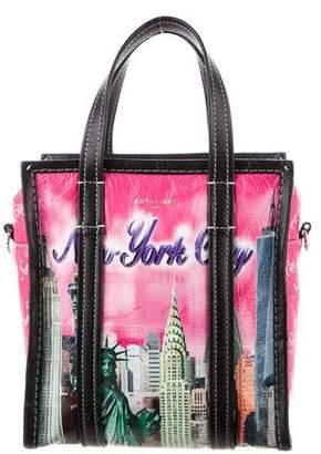 Balenciaga Bazar XS New York Leather Shopper