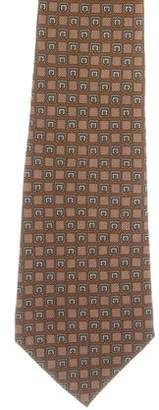 Christian Dior Printed Silk Tie