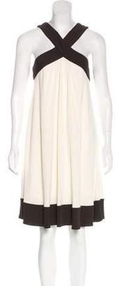 Diane von Furstenberg Halter Knee-Length Dress