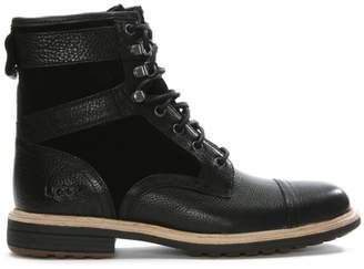 UGG Men\u2019s Magnusson Grizzly Leather Lace Up Boots