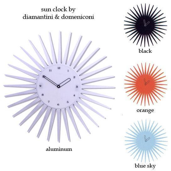 Diamantini Domeniconi sun & star clocks by diamantini & domeniconi