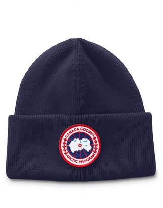 Canada Goose Men's Arctic Disc Toque Knit Beanie Hat
