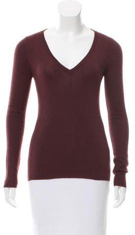 pradaPrada V-Neck Knit Sweater