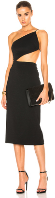 Cushnie et Ochs Cindy Asymmetric Open Back Dress $1,395 thestylecure.com