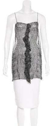 Thomas Wylde Sleeveless Silk Top