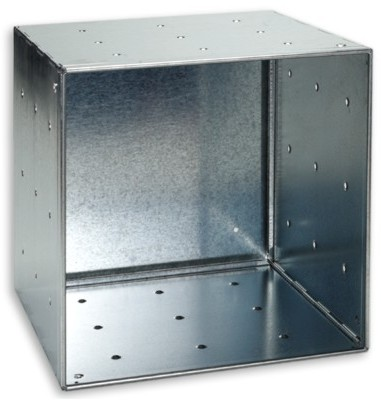 Galvanized QBO Steel Cube