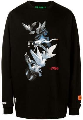 34ddb82fd1f Heron Preston Magic hat sweatshirt
