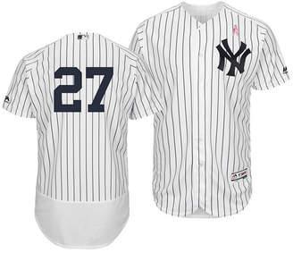 Majestic Men's Giancarlo Stanton New York Yankees Mother's Day Flexbase Jersey