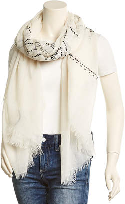 Chanel Ivory Cashmere Stole
