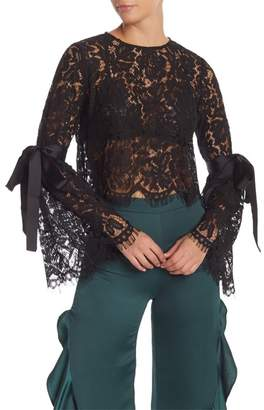 Do & Be Do + Be Lace Bell Sleeve Blouse
