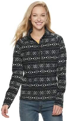 498f8bcee618 ZeroXposur Women s Summit 1 4-Zip Textured Fleece Jacket