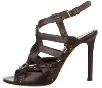 Tom Ford Leather Cutout Sandals