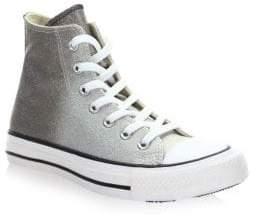 Converse Chuck Taylor Metallic Ombre High-Top Sneakers