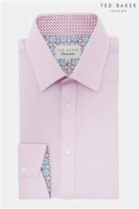 Next Mens Ted Baker Happs Diamond Dobby Endurance Shirt
