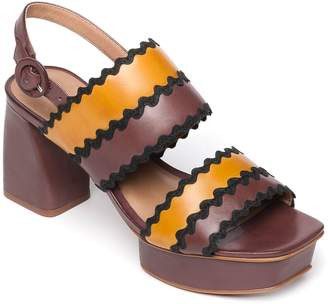 Bernardo Adjustable Platform Sandals - Remi