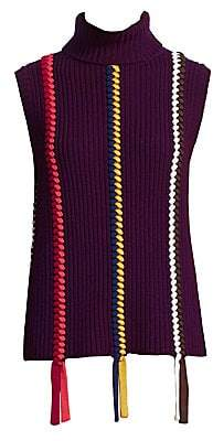 b8dcb0c8104be Derek Lam 10 Crosby Women s Sleeveless Turtleneck Sweater