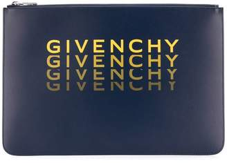 Givenchy XL zipped pouch