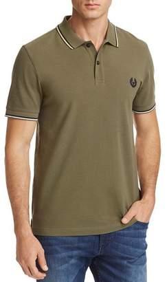 Belstaff Stewarton Tipped Short Sleeve Polo Shirt